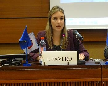 Publication: Ms. Isabela Fávero (EFSAS) speaking on Victims of Terrorism during 37th Session UNHRC