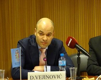 Publication: Mr. Dušan Vejinović (EFSAS) speaking on child victims of terrorism during the 40th Session of UNHRC