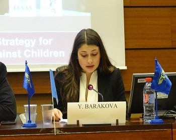 Publication: Ms. Yoana Barakova (EFSAS) speaking on Victims of Terrorism during 37th Session UNHRC