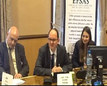 Publication: Dipl.-Pol. Boris Wilke (Bielefeld University, Germany) speaking during EFSAS side-event at the 36th Session of the UNHRC