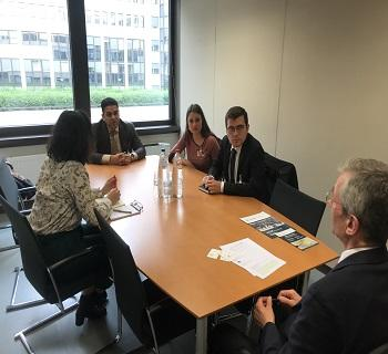 Publication: EFSAS holds meetings with Scholars, Policy Advisors on Terrorism and Think Tanks in Brussels