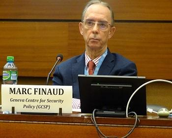 Publication: Mr. Marc Finaud (GCSP) speaking during EFSAS Side-event at the 40th Session of UNHRC