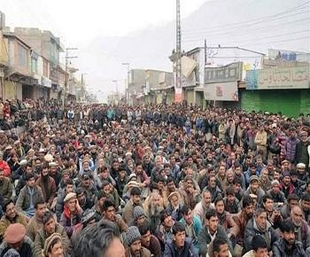 Publication: Protests in Gilgit Baltistan against illegal taxations