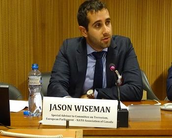 Publication: Mr. Jason Wiseman (EU Parliament) speaking during EFSAS Side-event at the 39th Session of the UNHRC