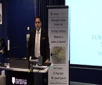 Publication: Speech of Mr. Qureshi during a one-day Conference at the University of Leicester