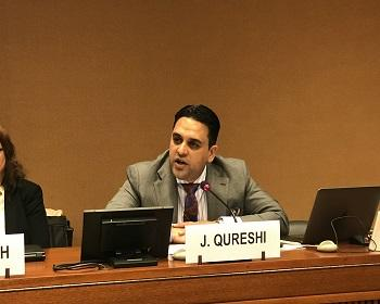 Publication: Mr. Junaid Qureshi (EFSAS) speaking on CPEC and Jammu & Kashmir during the 40th Session of UNHRC