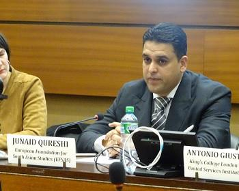 Publication: Opening remarks by Mr. Junaid Qureshi (EFSAS) during EFSAS Side-event at the 40th Session of UNHRC