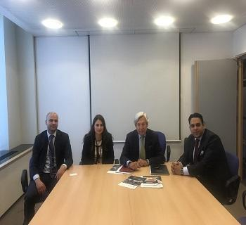 Publication: EFSAS discusses Terrorism, CPEC and Jammu & Kashmir with MEPs in Brussels