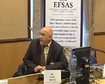 Publication: Dr. Paul Stott (EFSAS Fellow, University of Leicester and SOAS) speaking during EFSAS side-event at the 36th Session of the UNHRC