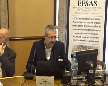Publication: Prof. McCusker (EFSAS Fellow and De Montfort University) speaking during EFSAS side-event at the 36th Session of the UNHRC