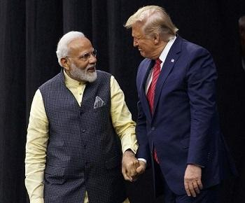 Publication: President Trump's visit to India: Prime Minister Modi's government has been the real gainer